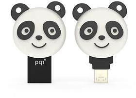 PQI 64GB iConnect 304 Panda Flash Drive