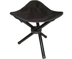 Marco Tripod Stool - Black small