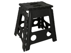 Marco Folding Step-Up Chair - Black