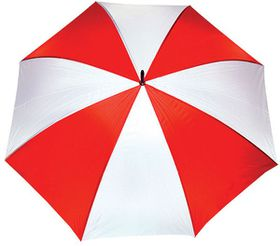 Marco Golf Umbrella - Eva Handle - Red & White