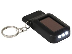 Marco Solar Led Light & Emergency Whistle Keyring