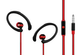 Volkano High Performance Sports Earphones - Black