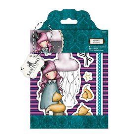 Docrafts Gorjuss Rubber Stamp - The Dreamer (10 Pieces)