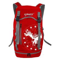 Kings Urban Gear Sports Carry Backpack - Red 2630