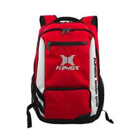 Kings Urban Gear Clean Cut 3 Toned Backpack - Red 2640