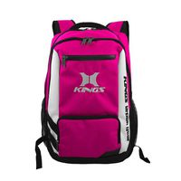Kings Urban Gear Clean Cut 3 Toned Backpack - Pink 2640