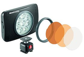 Manfrotto Lumie Muse LED Light with Accessories - Black