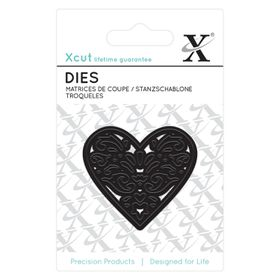 Xcut Mini Die - Filigree Heart (1 Piece)