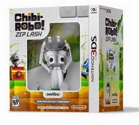 3DS Chibi Robo!: Zip Lash + Chibi Robo amiibo (Bundle)