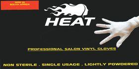 Heat Pro Salon Vinyl Gloves - 20 Pairs