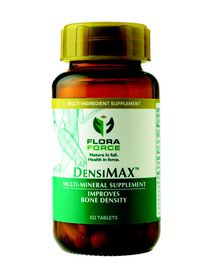 Flora Force DensiMAX Calcium Supplement - 60 Capsules