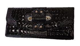 Fino Framed Pu Wallet 9352 - Black