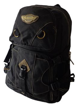 Fino 17L Canvas Utility Backpack 8525 - Black