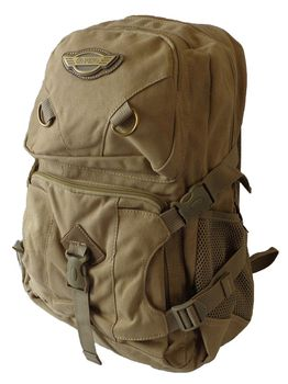 Fino 17L Canvas Utility Backpack 8525 - Khaki