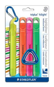 Staedtler Triplus Highlighters - Blister of 4