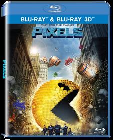 Pixels (3D & 2D Blu-ray)