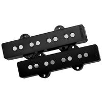 Dimarzio DP149 Ultra Jazz 4-String Bass Guitar Pickup Set - Black