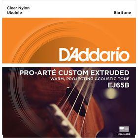D'Addario EJ65B Pro-Arte Custom Extruded Nylon Baritone Ukulele Strings