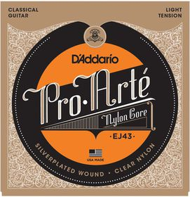 D'Addario EJ43 Pro-Arte Light Tension Classical Guitar Strings