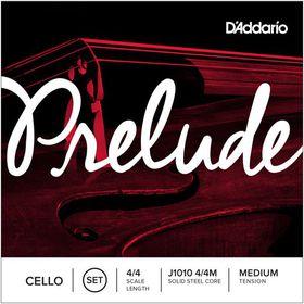 D'Addario Prelude Medium Tension 4/4 Cello Strings