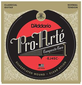 D'Addario EJ45C Pro-Arte Composite Normal Tension Classical Guitar Strings
