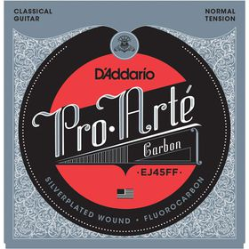 D'Addario EJ45FF Pro-Arte Carbon Dynacore Basses Normal Tension Classical Guitar Strings