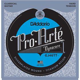 D'Addario EJ46TT Pro-Arte DynaCore Titanium Trebles Hard Tension Classical Guitar Strings