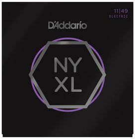 D'Addario NYXL1149 Nickel Wound Medium Electric Guitar Strings - 11-49