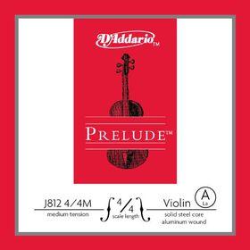 D'Addario Prelude Medium Tension 4/4 Scale Violin A Single String