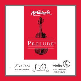 D'Addario Prelude Medium Tension 4/4 Scale Violin D Single String