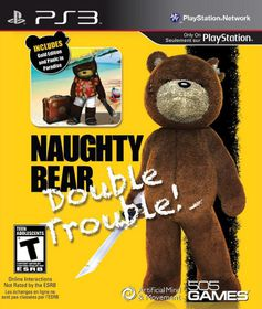 Naughty Bear Gold - Double Trouble (PS3)