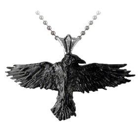 Alchemy Black Raven Unisex Pendant Alchemy Gothic