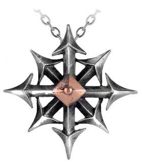 Alchemy Chaostar Unisex Pendant Alchemy Gothic