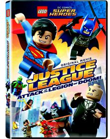 Lego: Justice League - Attack Of The Legion Of Doom (DVD)