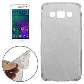 Tuff-Luv TPU Gel Case for Samsung Galaxy A3 - Smoke