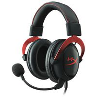 Kingston - HyperX Cloud II Gaming Headset - Red