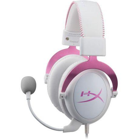 0cf3c9d3935 Kingston - HyperX Cloud II Gaming Headset - Pink   Buy Online in ...