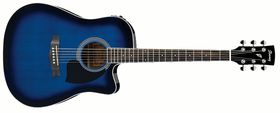 Ibanez PF Series PF15ECE-TBS Acoustic Electric Guitar