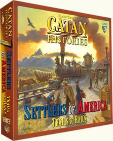 Catan Histories: Settlers of America  Boardgame
