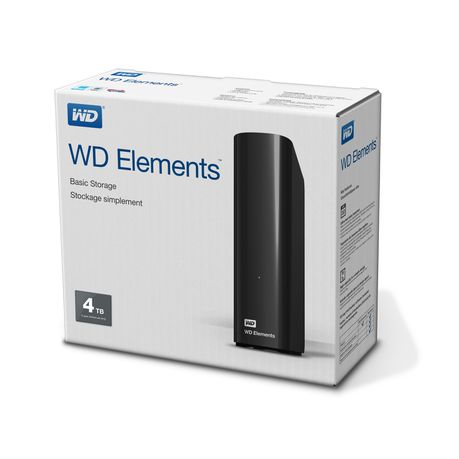 WD Elements 4TB External Desktop Hard Drive - USB3 0 | Buy