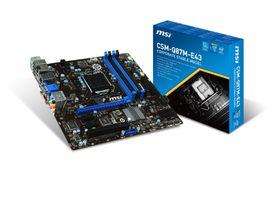 MSI Intel Q87M-E43 Q87 Chipset