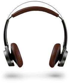 Plantronics BackBeat SENSE Wireless Bluetooth Headset - Black