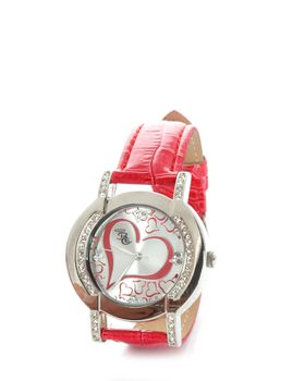 Bad Girl Allure Analogue Watch in Red