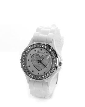 Bad Girl Trendsetter Analogue Watch in White