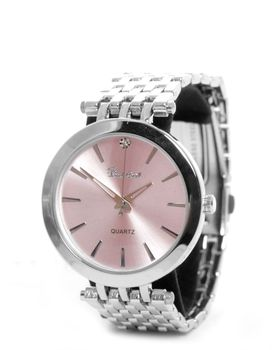 Bad Girl Wanderlust Analogue Watch in Silver