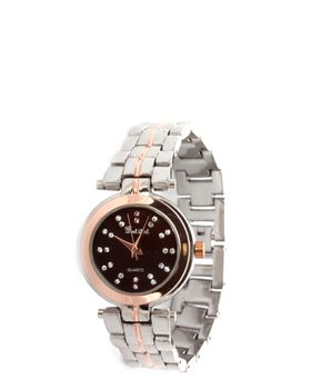 Bad Girl Milan Analogue Watch in Tutone