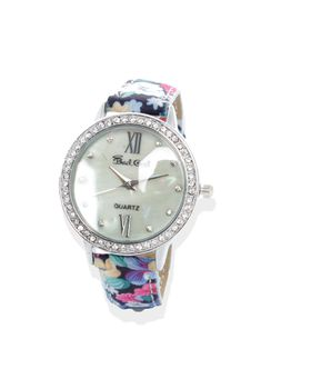 Bad Girl Bouquet Analogue Watch in Silver