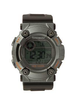 Bad Boy 100M-WR Digital Watch in Grey