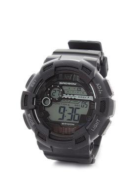 Bad Boy 100M-WR Digital Watch in Black