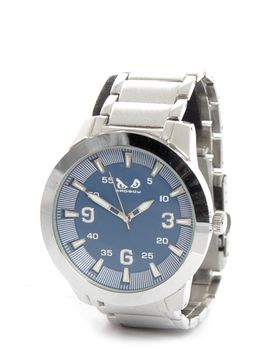 Bad Boy Premium Analogue Watch in Silver